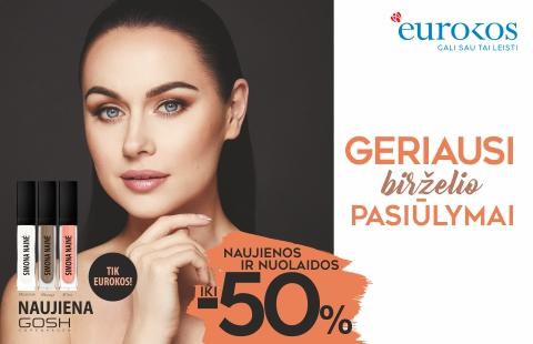 Geriausi EUROKOS birželio pasiūlymai! Nuolaidos iki -50 %!