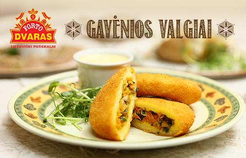 Restorane FORTO DVARAS – GAVĖNIOS VALGIAI