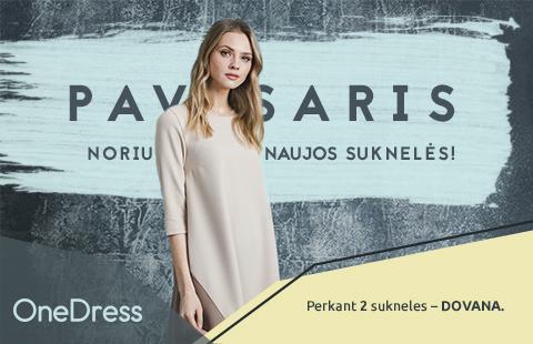 Pavasaris… Noriu naujos suknelės !
