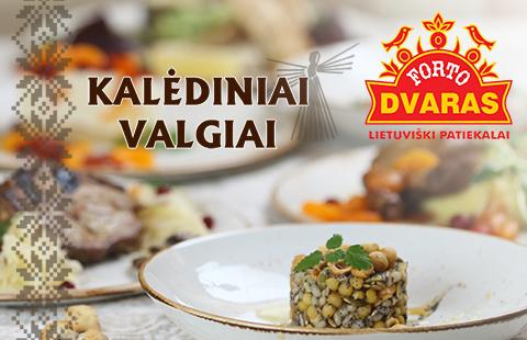Restorane FORTO DVARAS – KALĖDINIAI VALGIAI