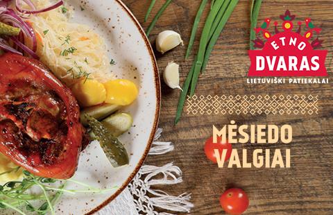 Restorane ETNO DVARAS – MĖSIEDO VALGIAI