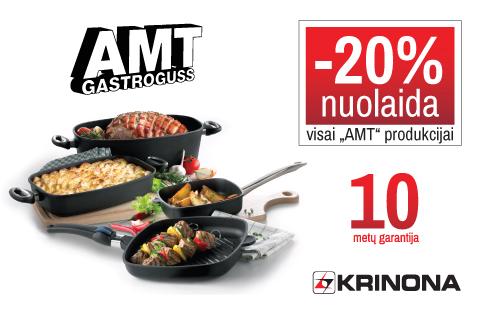 Visą kovo mėnesį -20% nuolaida visai AMT – Gastroguss produkcijai!
