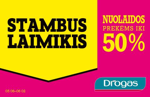 STAMBUS LAIMIKIS – nuolaidos iki 50%