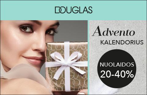 Atraskite Douglas Advento kalendoriaus pasiūlymus!