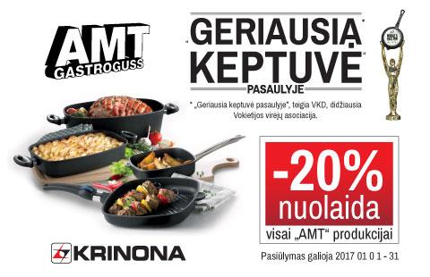 -20% nuolaida visai AMT – Gastroguss  produkcijai