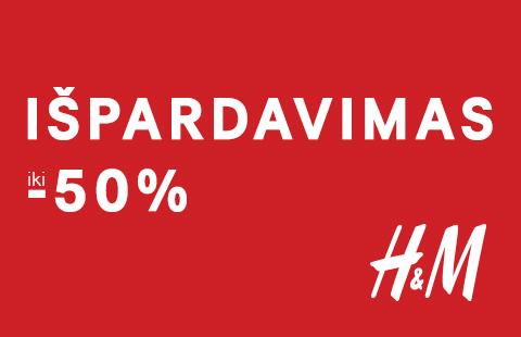 VIDURIO SEZONO IŠPARDAVIMAS iki -50 %