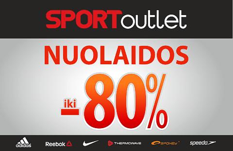 NUOLAIDOS iki -80%