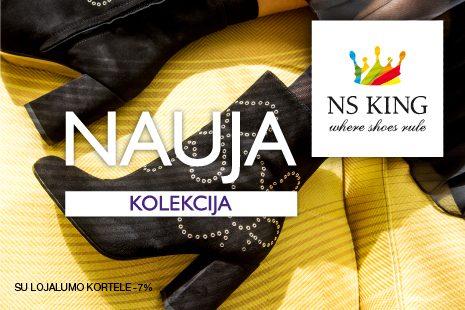 Į NS KING parduotuves atkeliavo naujoji rudens/žiemos kolekcija!