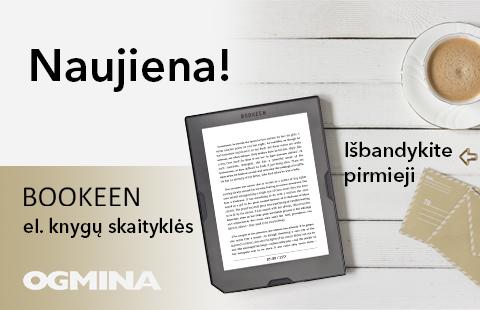 Naujiena Ogminoje – Bookeen el. knygų skaityklės!