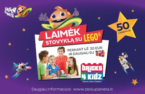 Laimėk stovyklą su LEGO
