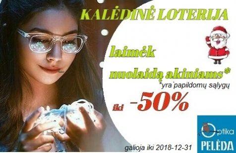 LAIMĖK NUOLAIDĄ AKINIAMS IKI -50%