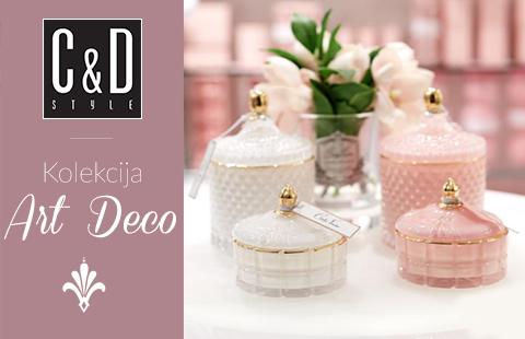 "Elegantiška žvakių kolekcija ""Art Deco"""