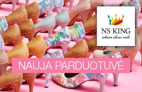 NS KING avalynės parduotuvė jau PC MOLAS